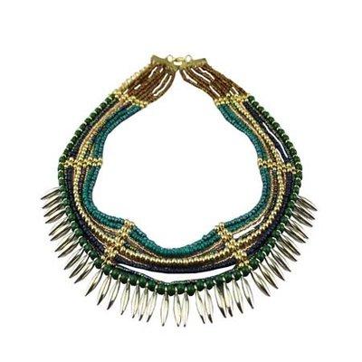 Short necklace