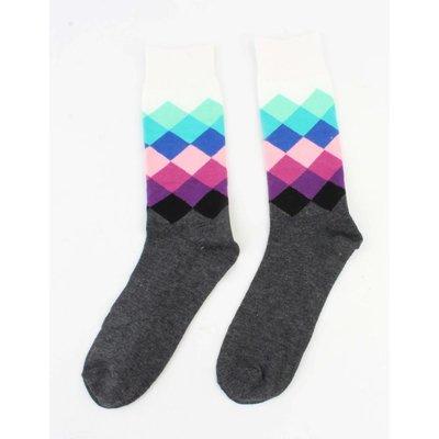 """Men socks """"Diamond"""" white"""