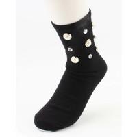 "Socks "" Shiny "" black per 2 pairs"