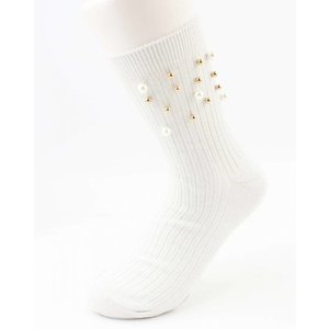 "Socks ""Sporty Pearl"" White per 2 pairs"
