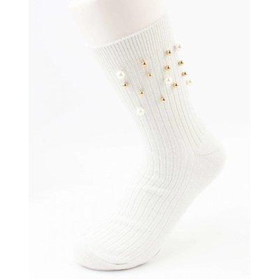 """Socken """"Sporty Perle"""" weiß pro 2 Paar"""
