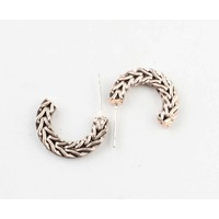 """Metal earring """" Sanja """" rosé"""