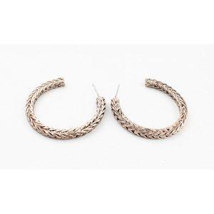"Metal earring "" Noé "" rosé"