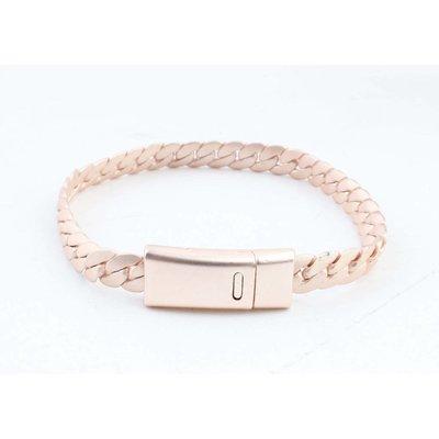 "Bracelet "" Liv "" rosé"