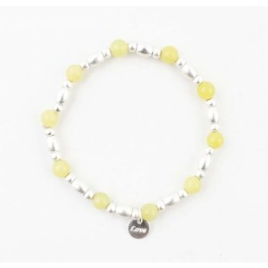 "Bracelet "" Love "" yellow"