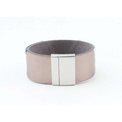 "Bracelet leather "" Niva "" aqua"