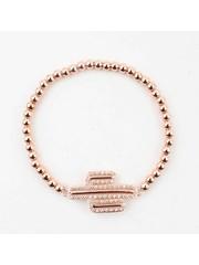 """Bracelet """" Valery """" rosé"""