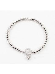 """Bracelet """" Janet """" shiny silver"""