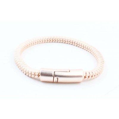 """Bracelet """" Lora """" rosé"""