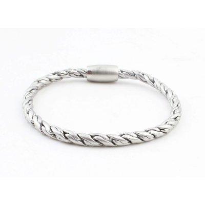 """Bracelet """" Kendra """" matt silver"""