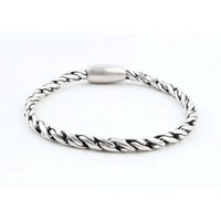 "Bracelet "" Kendra "" old silver"