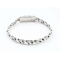 """Armband """"Zina"""" oud zilver"""