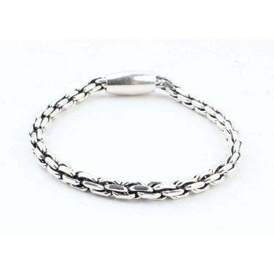 """Armband """"Elora"""" glänzend silber"""