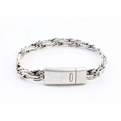 """Bracelet """" Eddie """" shiny silver"""