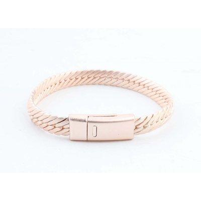 """Bracelet """" Gaia """" rosé"""