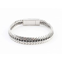 "Armband ""Gaia"" oud zilver"