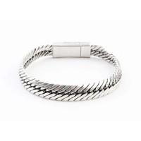 "Bracelet "" Gaia"" old silver"