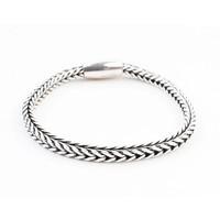 """Bracelet """" Noé """" shiny silver"""