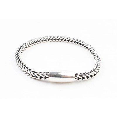 "Armband ""Noé"" glanzend zilver"