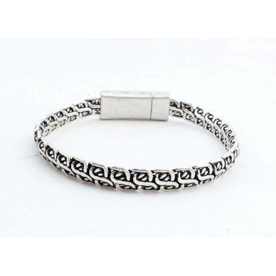 "Armband ""Lina"" oud zilver"