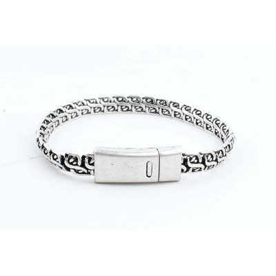 """Bracelet """" Lina """" old silver"""