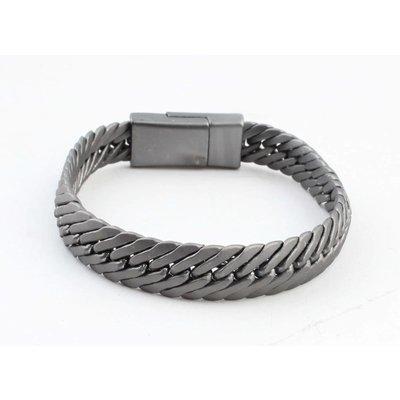 """Bracelet """"Koya"""" anthracite"""