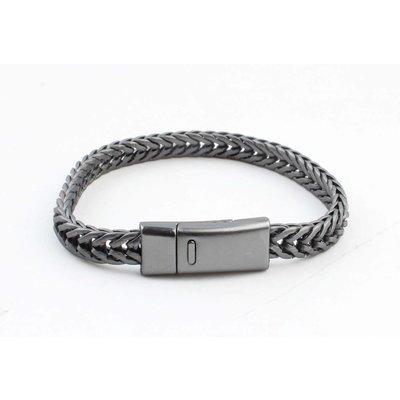 "Armband ""Milena"" antraciet"
