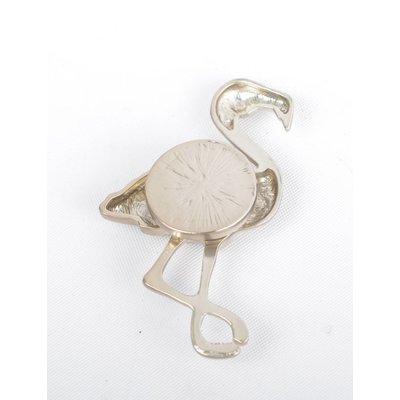 "Magneet ""Flamingo"" goud"