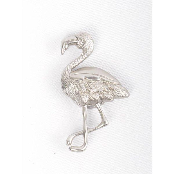 "Magnet ""Flamingo"" silber"