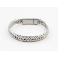 "Bracelet ""Gaia"" mat silver"