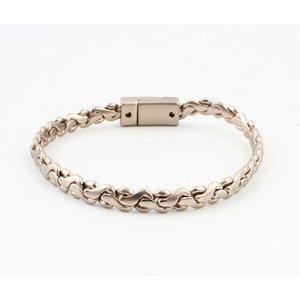 "Bracelet ""Alma"" mat gold"