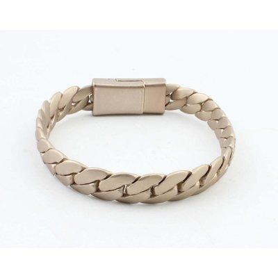 """Armband """"Liv"""" mat goud"""