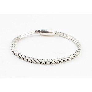 """Bracelet """"Irina"""" shiny silver"""