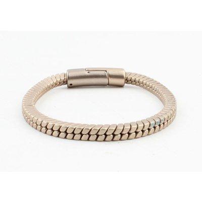 """Armband """"Lora"""" mat goud"""