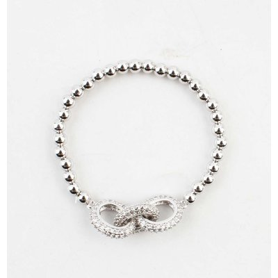 """Bracelet """"Luxury"""" silver"""
