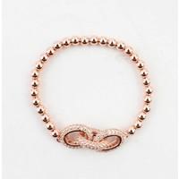 "Armband ""Luxus"" rosé"