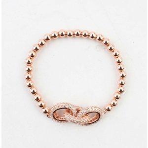 "Bracelet ""Luxury"" rosé"