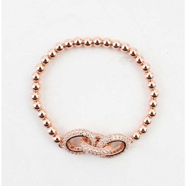 "Armband ""Luxury"" rosé"