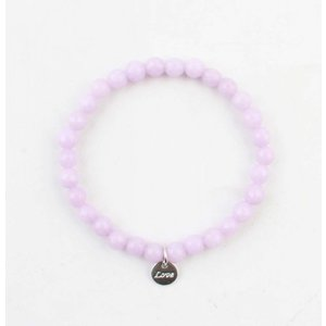 "Bracelet natural stone ""Amethyst"" purple"