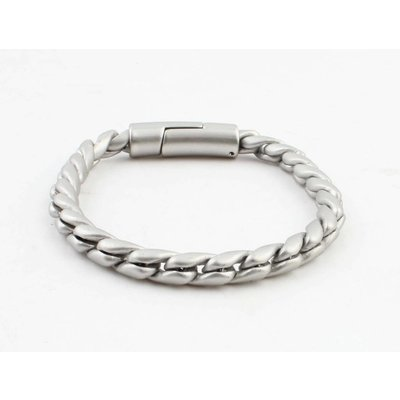 "Armband ""Noor"" matt silber"