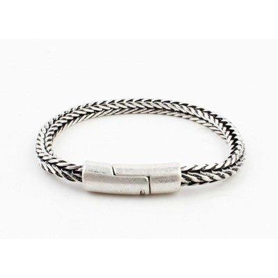 """Bracelet """"Noé"""" old silver"""
