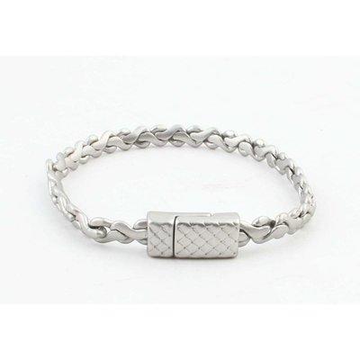 """Armband """"Alma"""" mat zilver"""