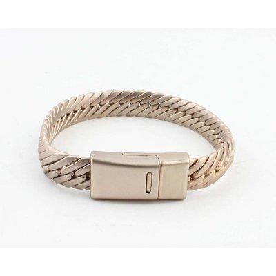 """Armband """"Busra"""" matt gold"""