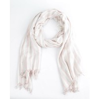 "Scarf ""3 stripes"" pink"
