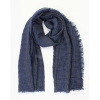 "Scarf ""Berlin"" denim blue"