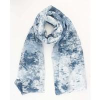 """Sjaal """"Mathilde"""" blauw"""