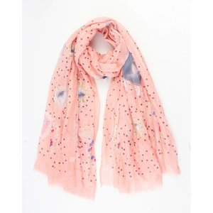 "Scarf ""Fairytale"" pink"