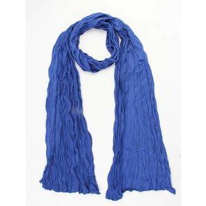 """Sjaal """"Uni Jersey S"""" kobalt blauw"""