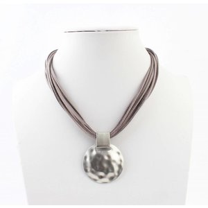 "Necklace ""Liva"" grey"