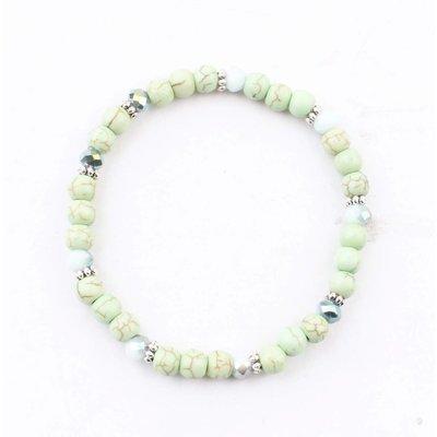 """Armband """"Natürliche Stein"""" grün"""